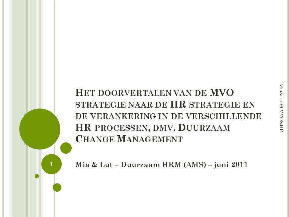 4.IMPLEMENTEREN Wat, door Wie & Hoe Realiseren we ons uiteindelijk doel (monitoring).