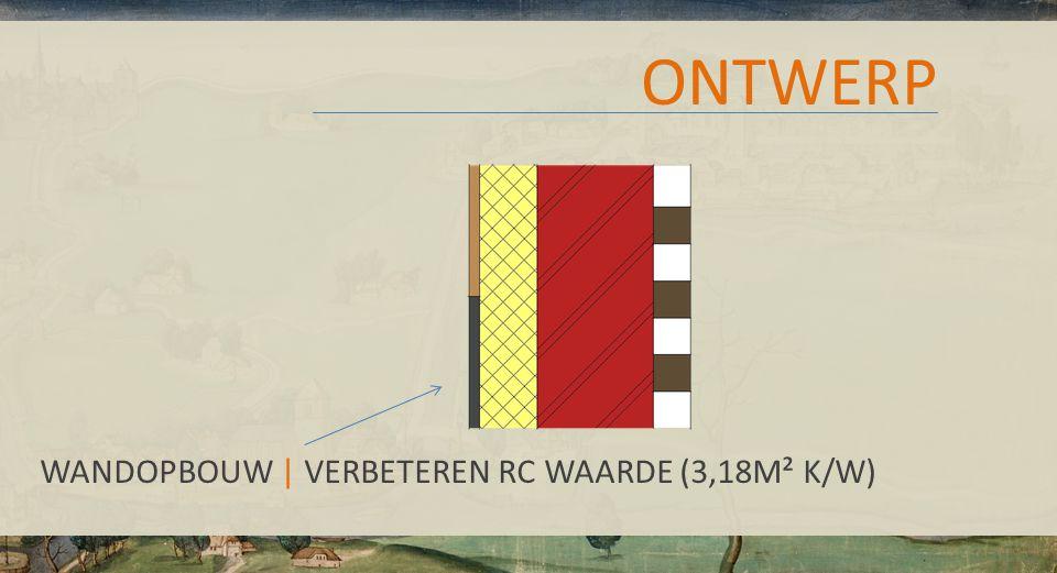 ONTWERP WANDOPBOUW | VERBETEREN RC WAARDE (3,18M² K/W)