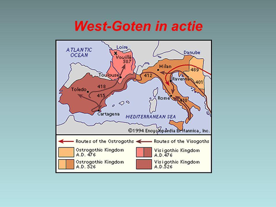 West-Goten in actie