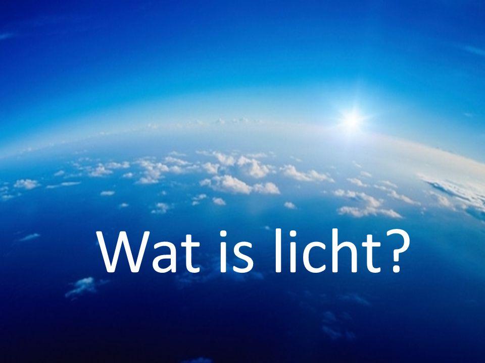 Wat is licht?