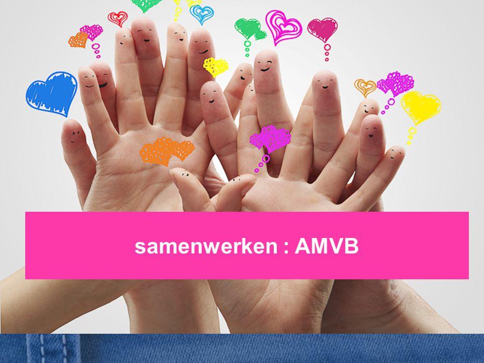 samenwerken : AMVB