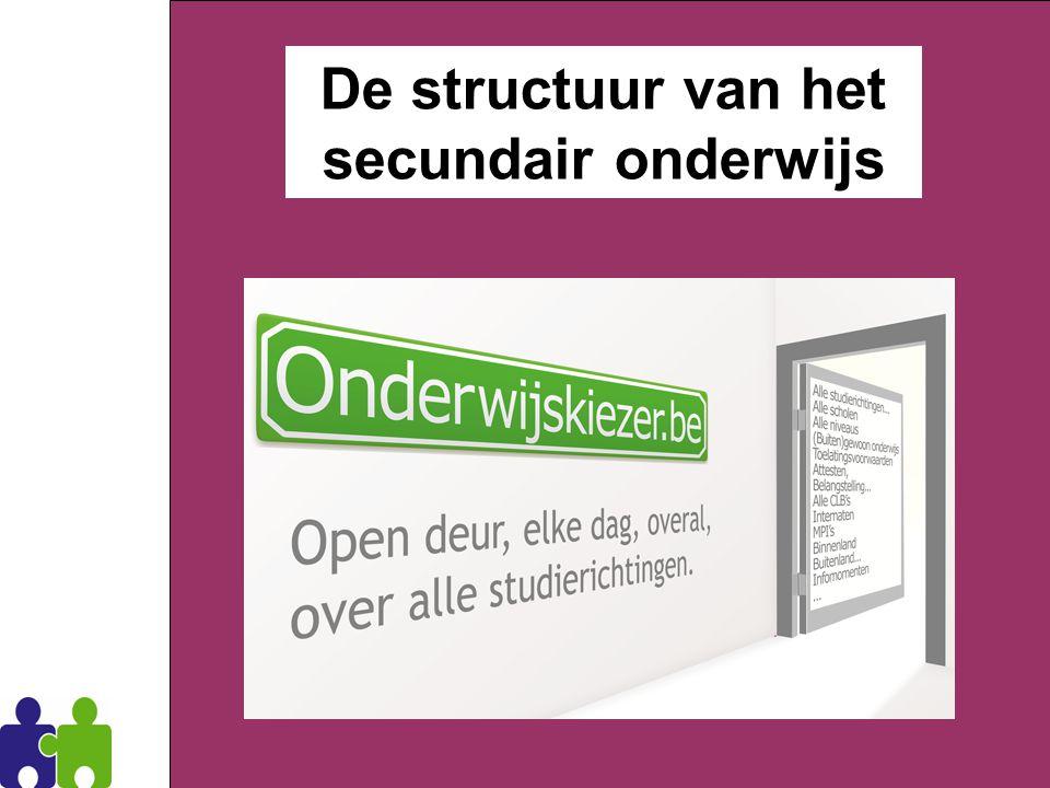 11 Dirk Verrycken CLB Zoersel De structuur van het secundair onderwijs