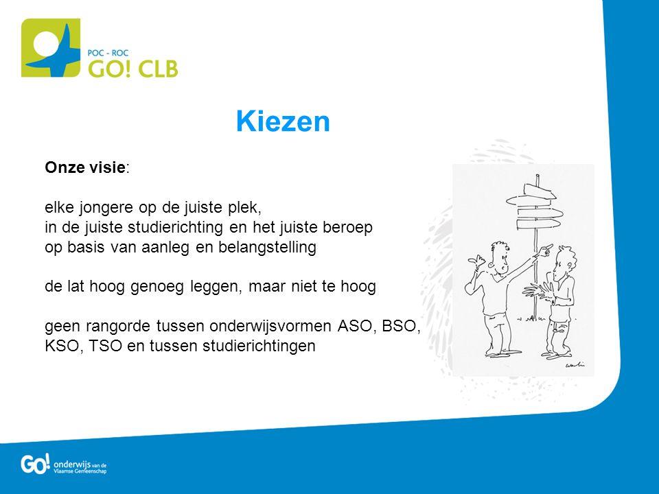 KSO – Lesuren •Basisvorming afhankelijk van studierichting •Informatie over de opleidingen kan je vinden in de infobrochure en op www.onderwijskiezer.be