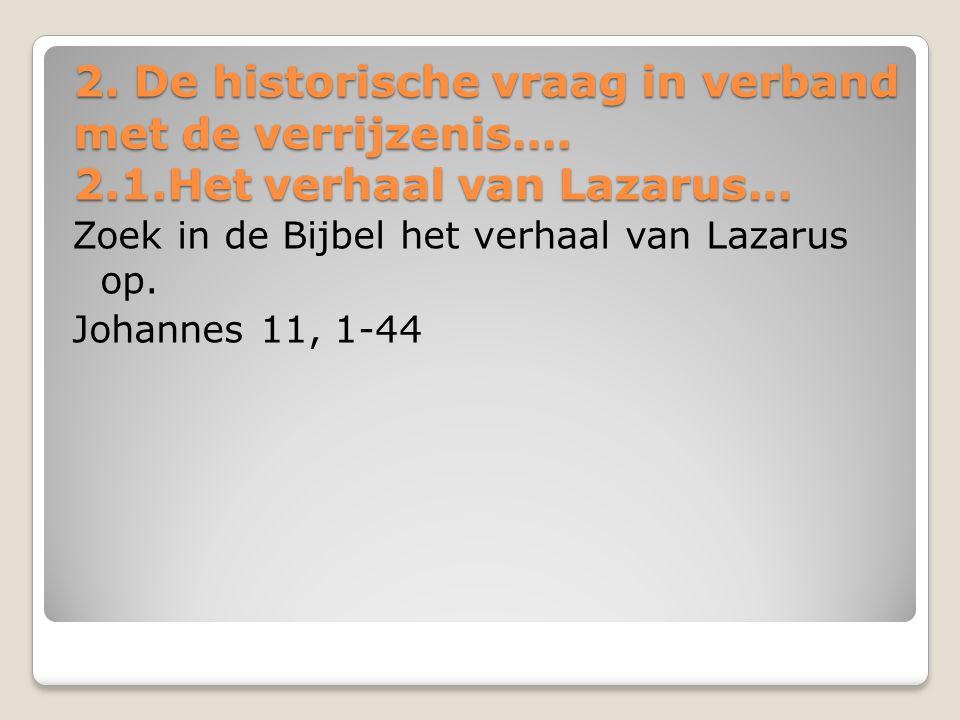Lazarus uit de dood opgewekt Lazarus uit de dood opgewekt [1] Er was iemand ziek, een zekere Lazarus uit Betanië, het dorp waar Maria en haar zuster Marta woonden [2] – dat was de Maria die Jezus met olie gezalfd heeft en zijn voeten met haar haar heeft afgedroogd; de zieke Lazarus was haar broer.