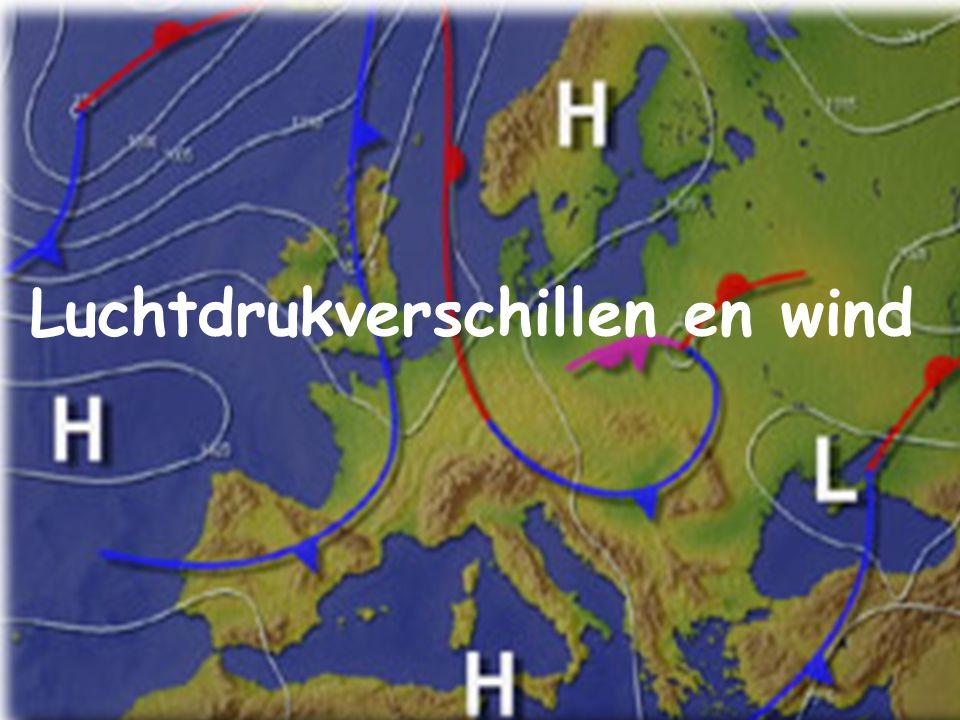 Luchtdrukverschillen en wind