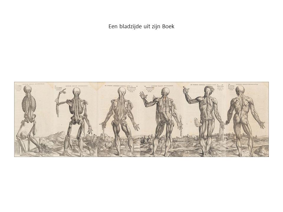 Een bladzijde uit zijn Boek
