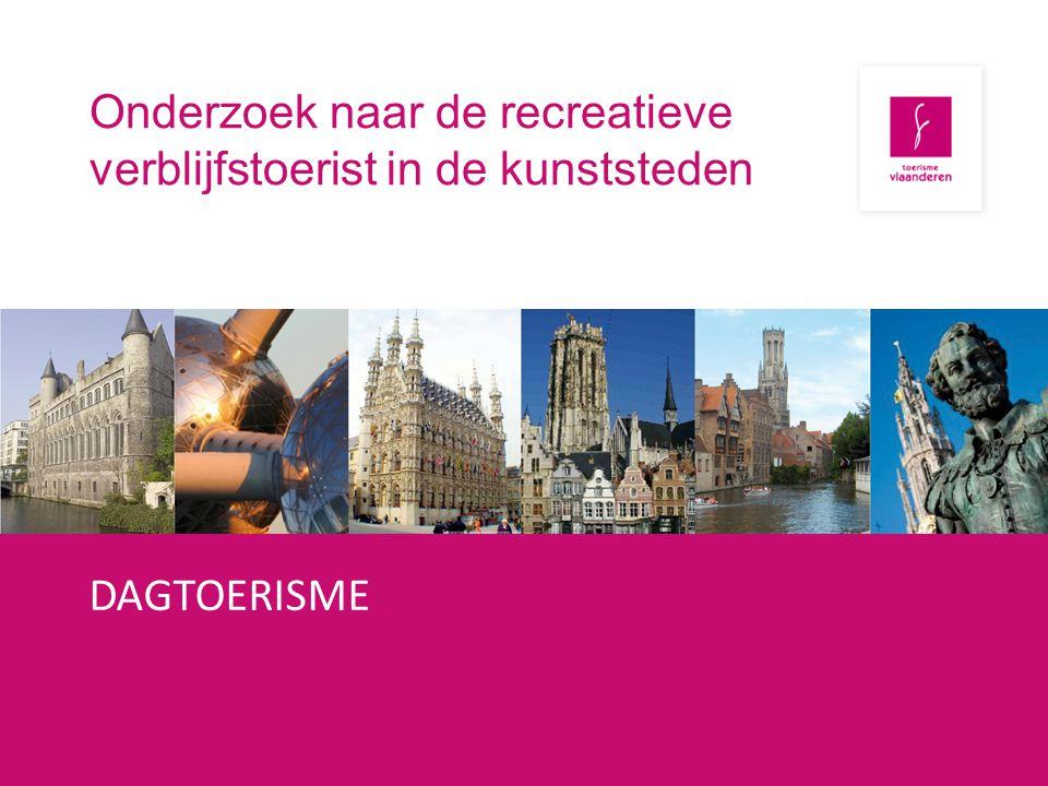 Onderzoek Dagtoerisme bij de Belgen (2011) Dagtoerisme Belgen