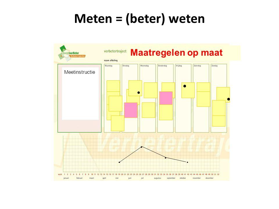 Meten = (beter) weten Meetinstructie Maatregelen op maat