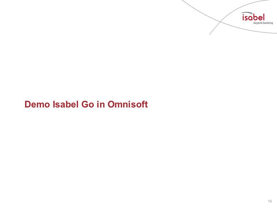 Demo Isabel Go in Omnisoft 19
