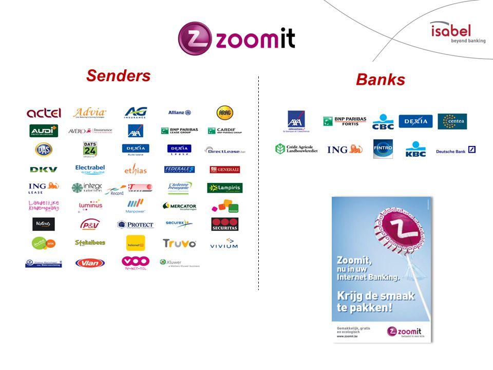 Banks Senders