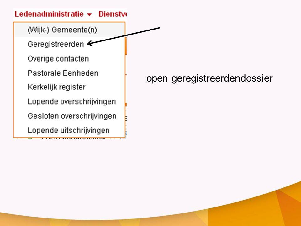 open geregistreerdendossier