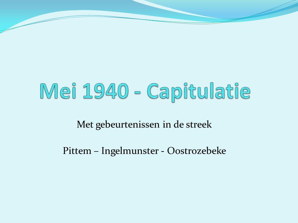 Met gebeurtenissen in de streek Pittem – Ingelmunster - Oostrozebeke