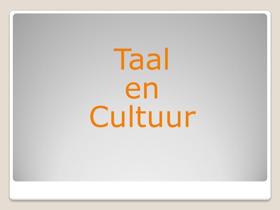 Taal en Cultuur