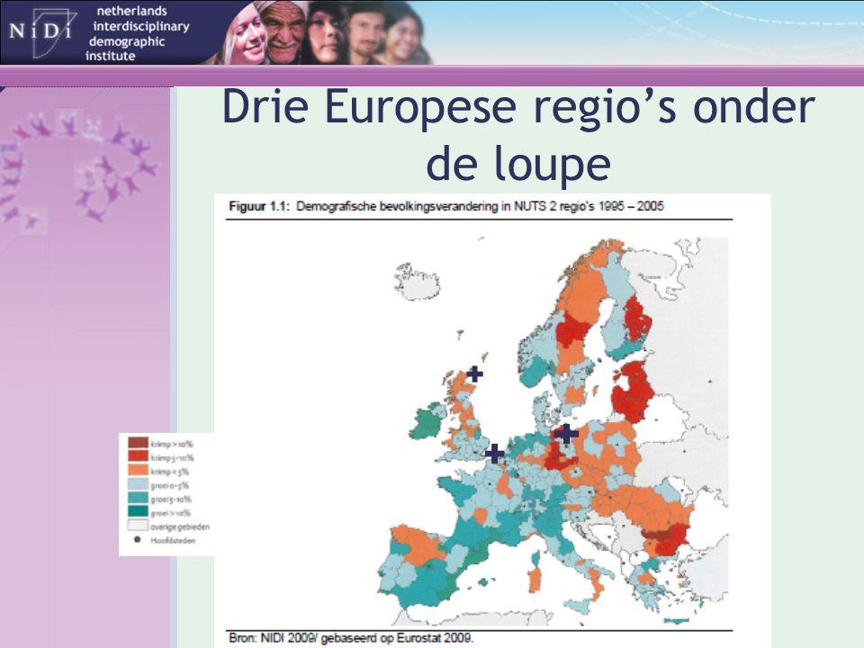 Drie Europese regio's onder de loupe