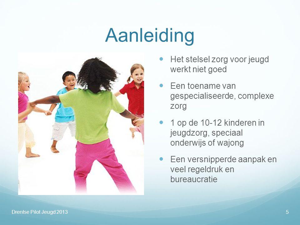 Aanleiding  Het stelsel zorg voor jeugd werkt niet goed  Een toename van gespecialiseerde, complexe zorg  1 op de 10-12 kinderen in jeugdzorg, spec