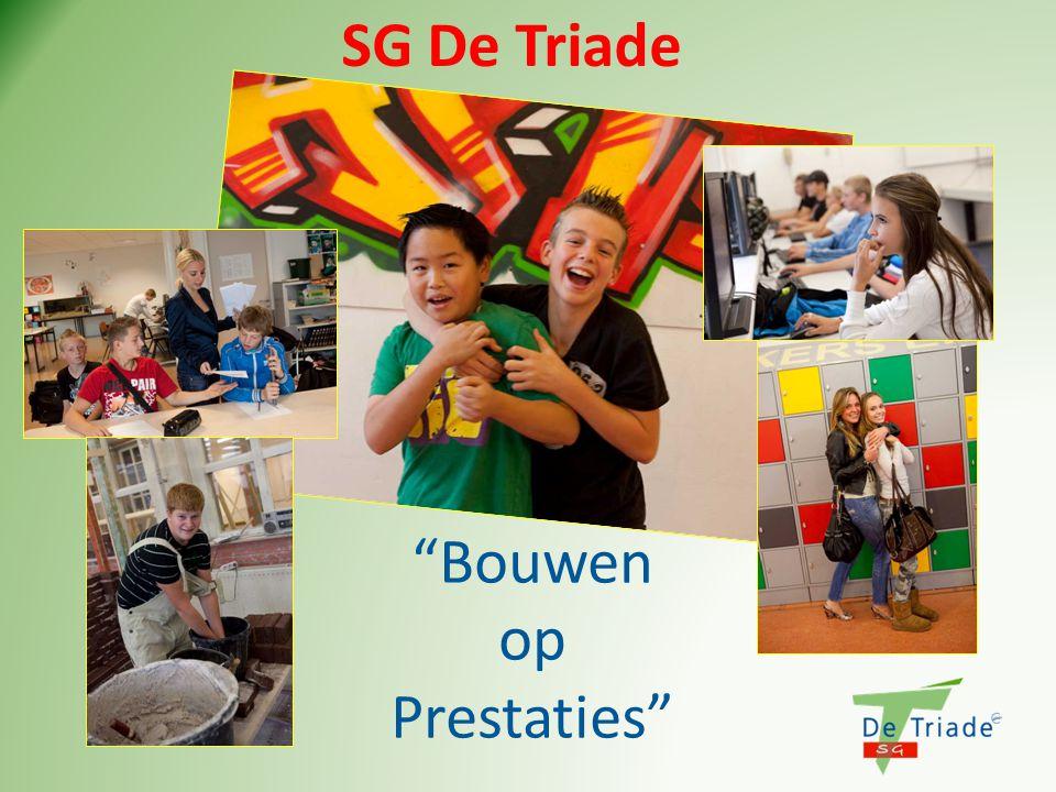 """SG De Triade """"Bouwen op Prestaties"""""""
