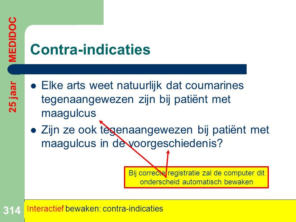 Contra-indicaties  Elke arts weet natuurlijk dat coumarines tegenaangewezen zijn bij patiënt met maagulcus  Zijn ze ook tegenaangewezen bij patiënt