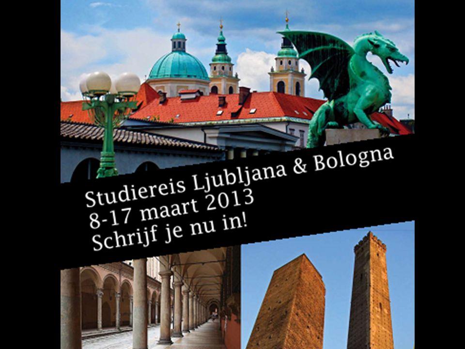 Ljubljana-Bologna-Venetië 8-17 maart 2013