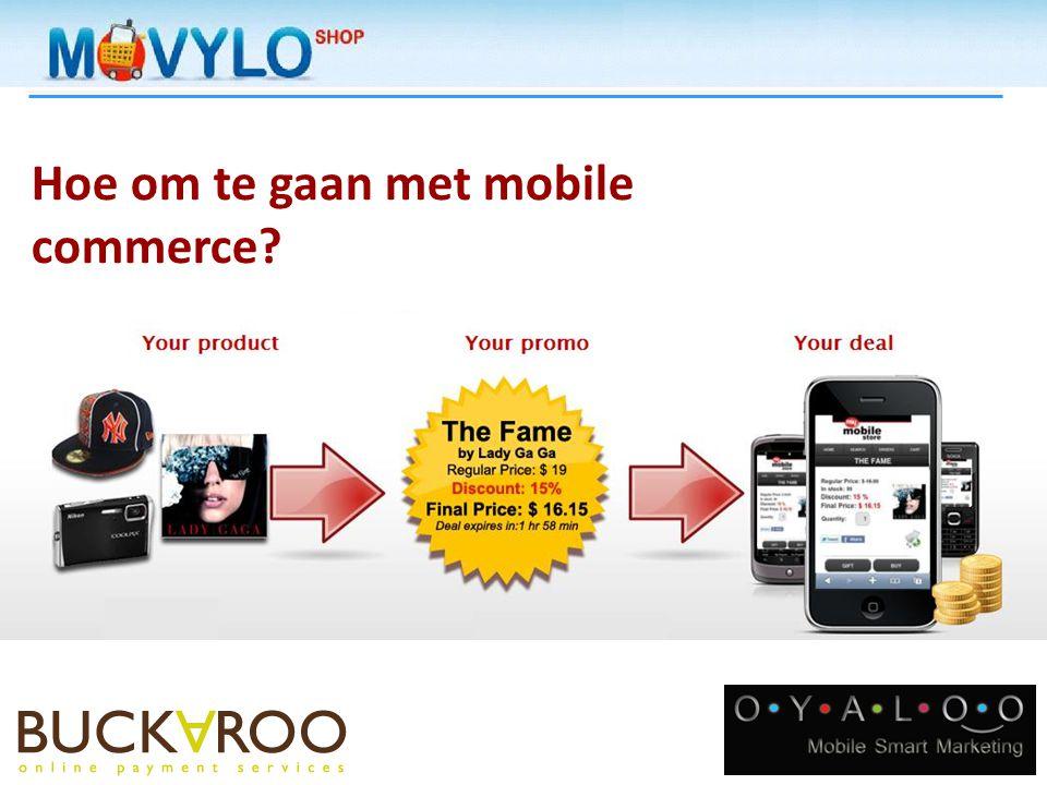 Hoe om te gaan met mobile commerce