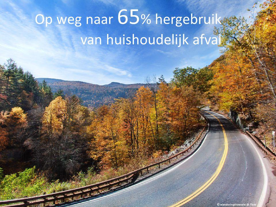 Op weg naar 65 % hergebruik van huishoudelijk afval © wanderingtheworld @ Flickr