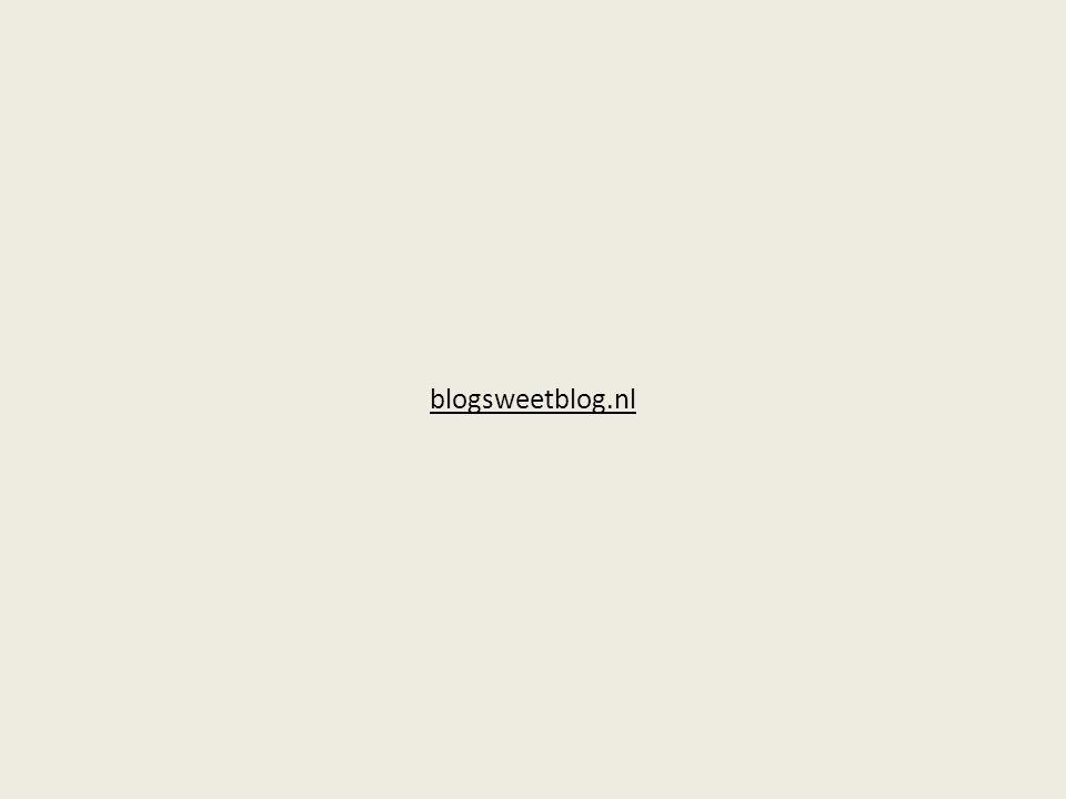 blogsweetblog.nl