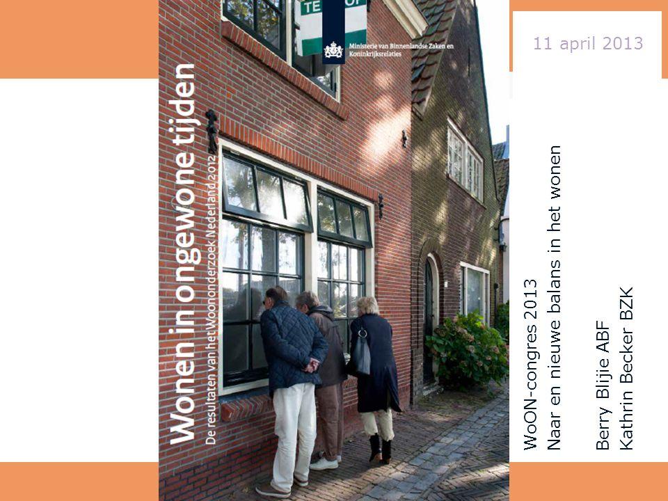 Wat gaan we doen: Wat is het WoON Uitkomsten in vogelvlucht • Sessie 1 kopers en huurders Stellingen • Jan Brouwer • Gert Middelkoop Reacties uit de zaal
