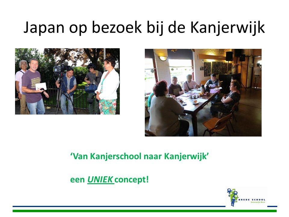 Japan op bezoek bij de Kanjerwijk 'Van Kanjerschool naar Kanjerwijk' een UNIEK concept!
