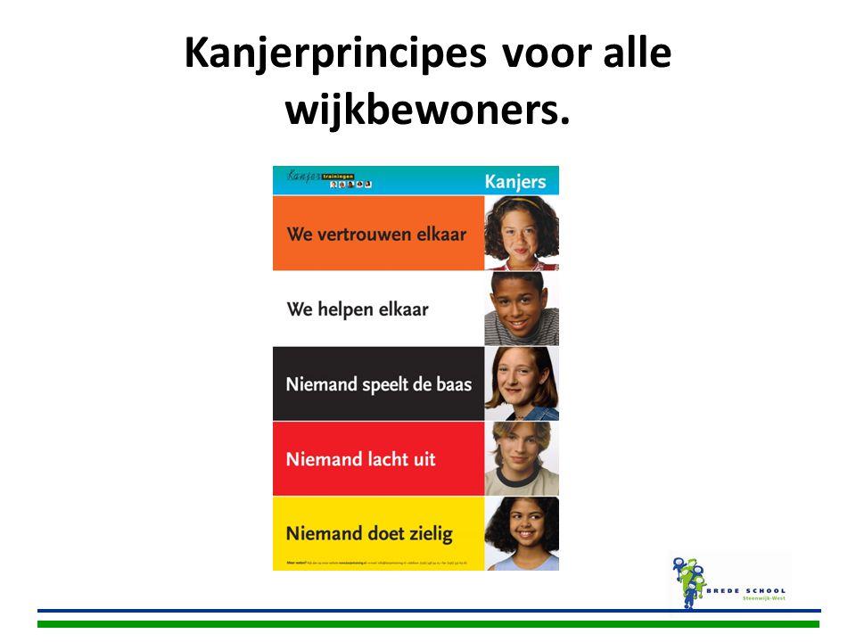 Kanjerprincipes voor alle wijkbewoners.
