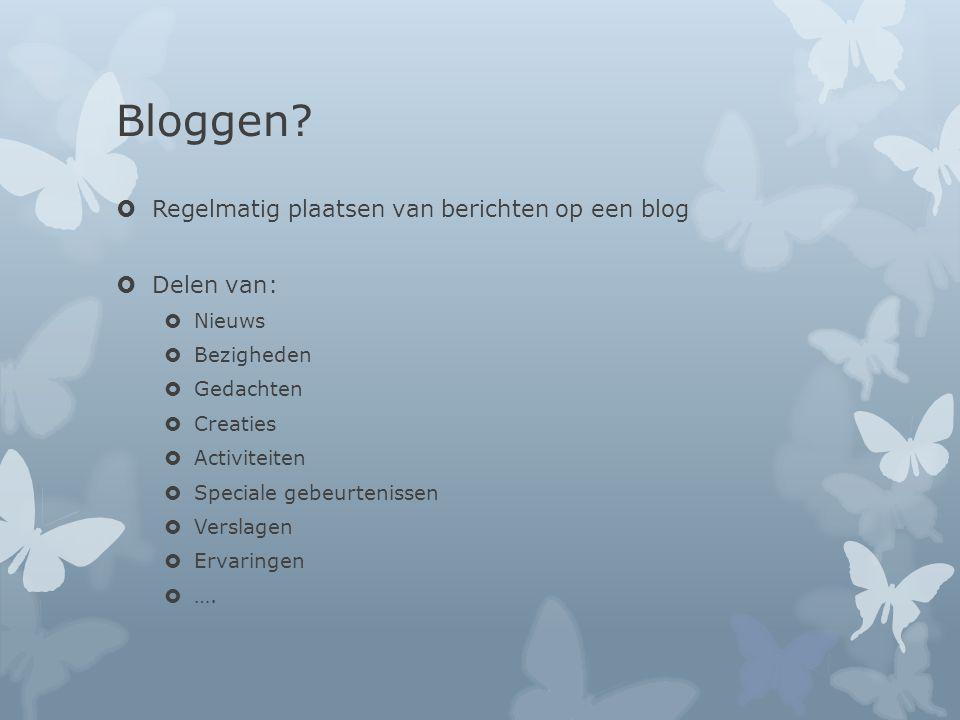 Bloggen.