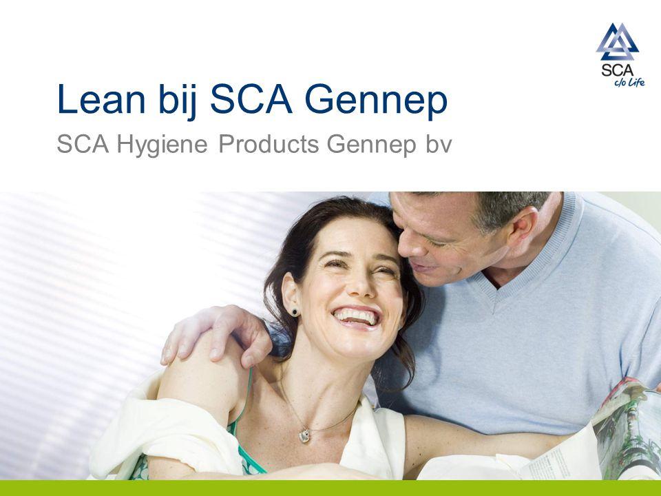 Lean bij SCA Gennep SCA Hygiene Products Gennep bv