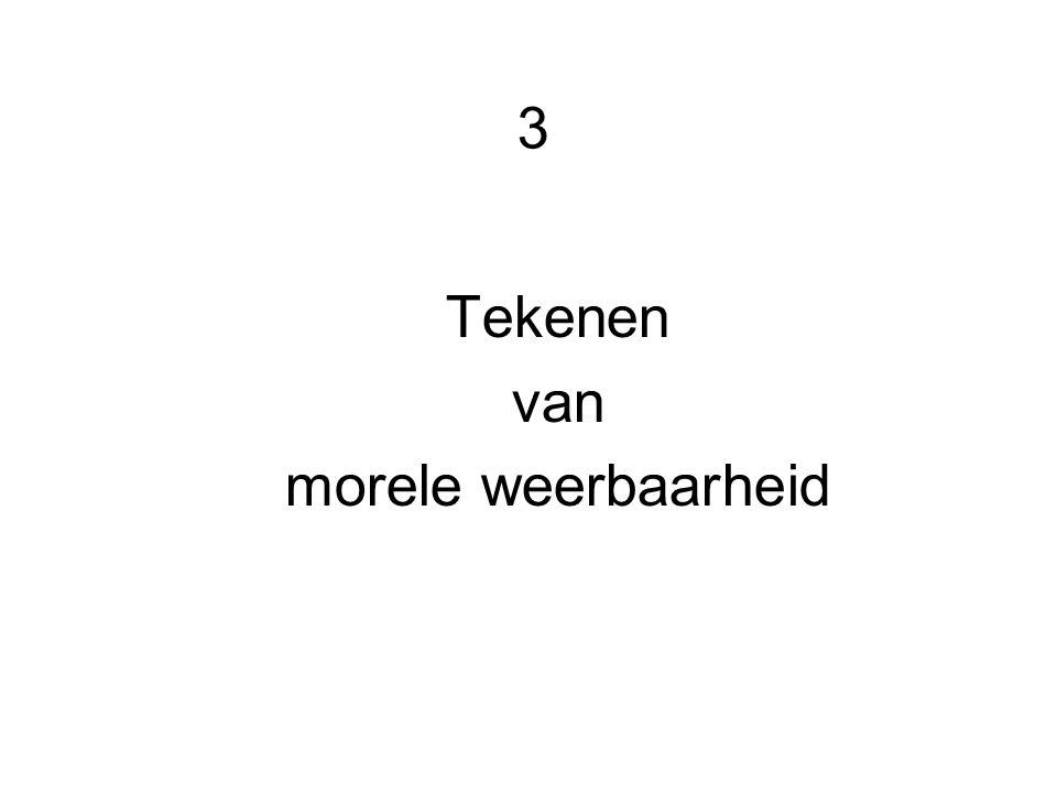 3 Tekenen van morele weerbaarheid