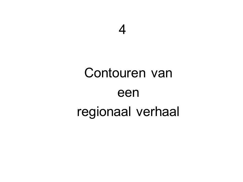 4 Contouren van een regionaal verhaal
