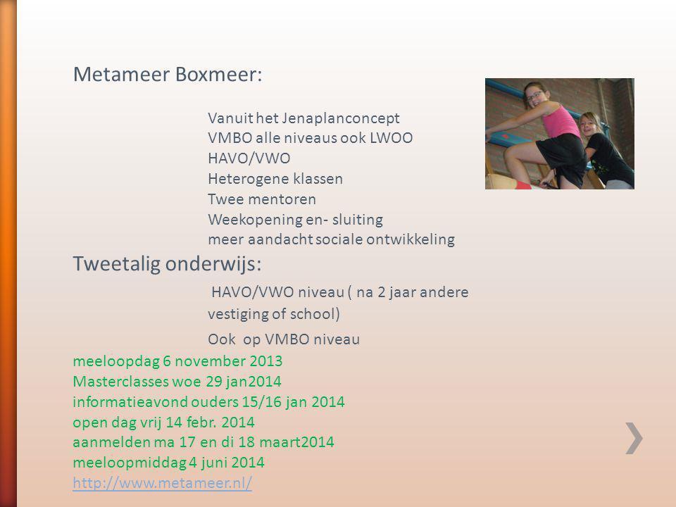 Kandinsky College Molenhoek: VMBO ( alle niveaus) interesse sport ( 6 uur gym) PBS kennismakingsdagen: 8 januari 2014 22 januari 2014 3 februari 2014 5 februari 2014 19 februari 2014 Aanmelden via de site ( nu nog niet mogelijk) Open dag 12 febr.