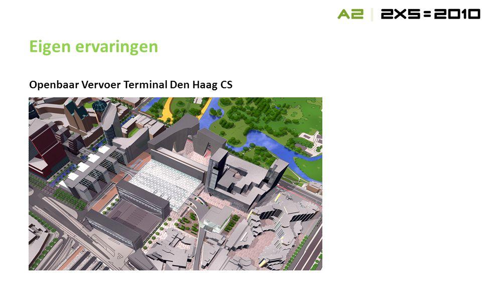 Openbaar Vervoer Terminal Den Haag CS Eigen ervaringen