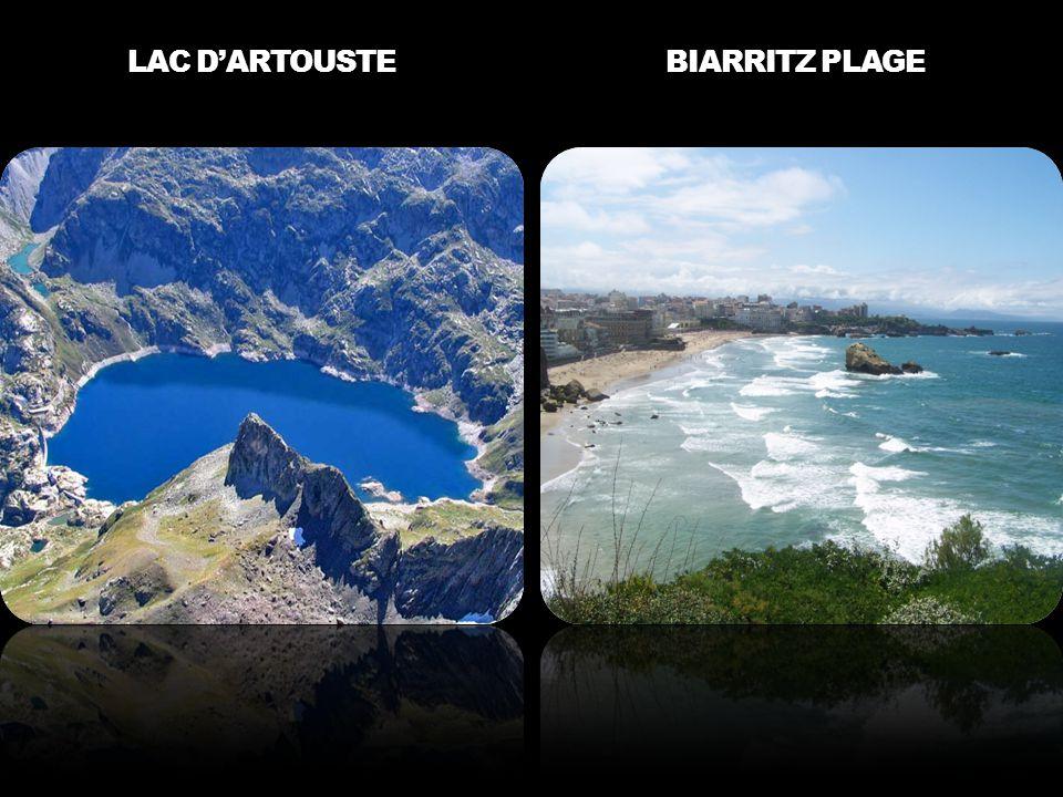 LAC D'ARTOUSTE BIARRITZ PLAGE
