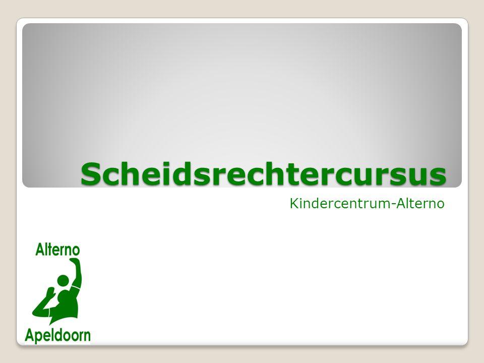 Scheidsrechtercursus Kindercentrum-Alterno