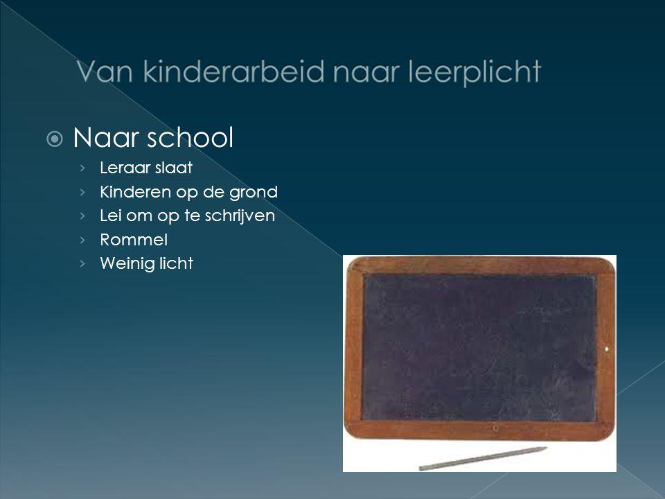  Naar school › Leraar slaat › Kinderen op de grond › Lei om op te schrijven › Rommel › Weinig licht