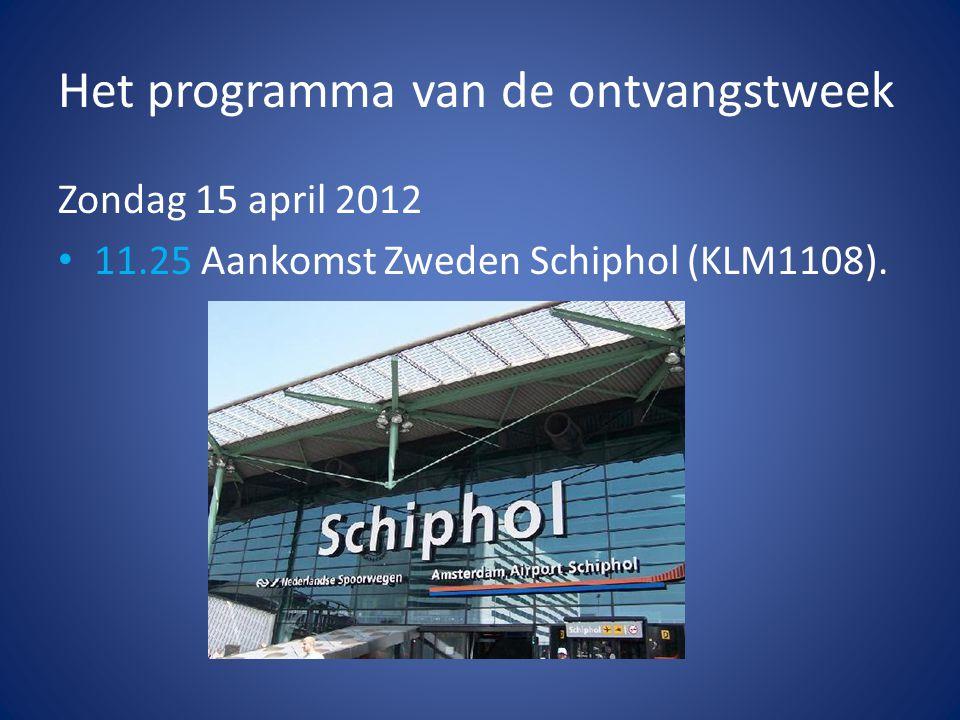 Donderdag 24 mei 2012 • Hele dag: Werken aan het project en aan het einde van de middag de presentaties.