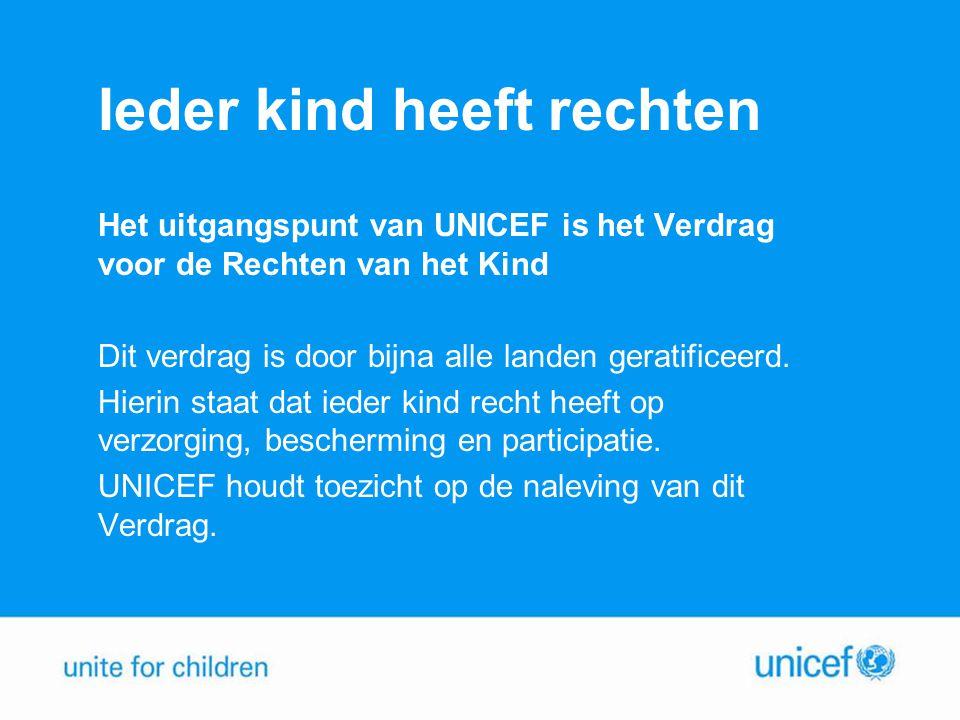 Kinderen die speciale bescherming nodig hebben Resultaten Sudan: 20.000 kindsoldaten werden bevrijd en krijgen onderwijs en traumaverwerking.