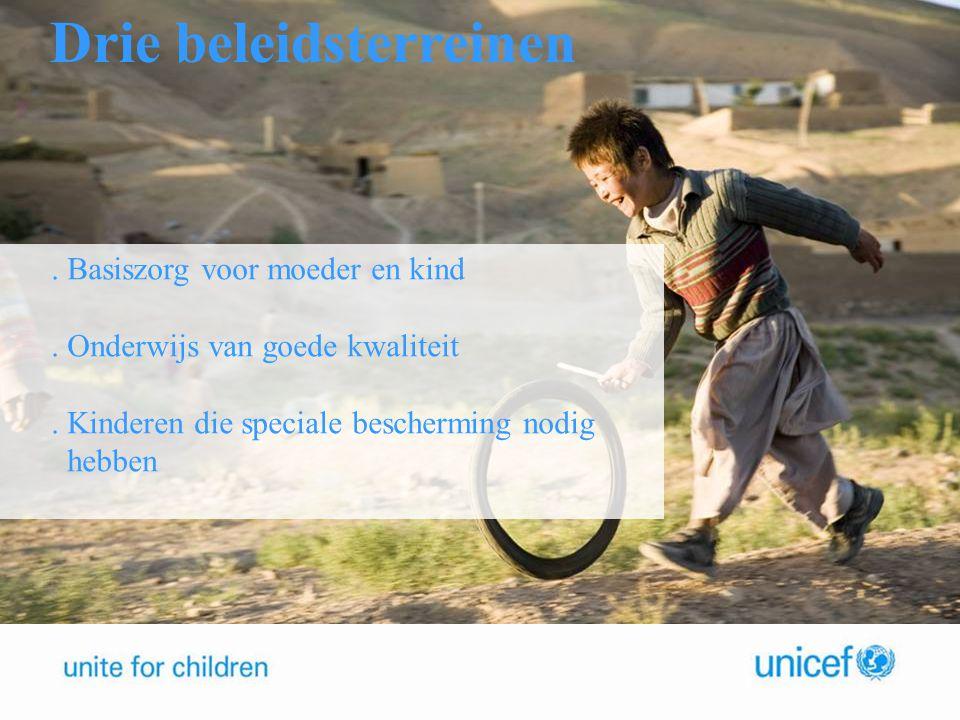 Stelling 4.Basiszorg voor moeder en kind. Onderwijs van goede kwaliteit.