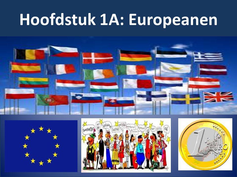 In Europa wonen niet alleen mensen die in Europa zijn geboren, er wonen ook veel mensen die uit andere delen van de wereld komen.