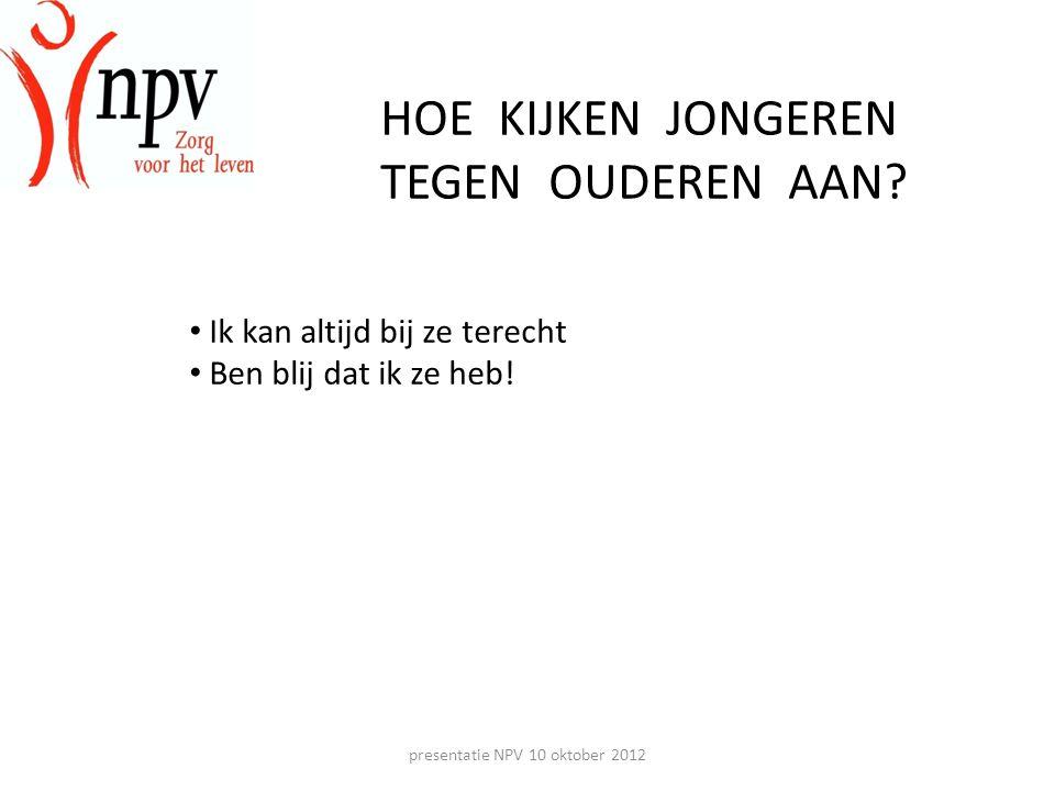 presentatie NPV 10 oktober 2012