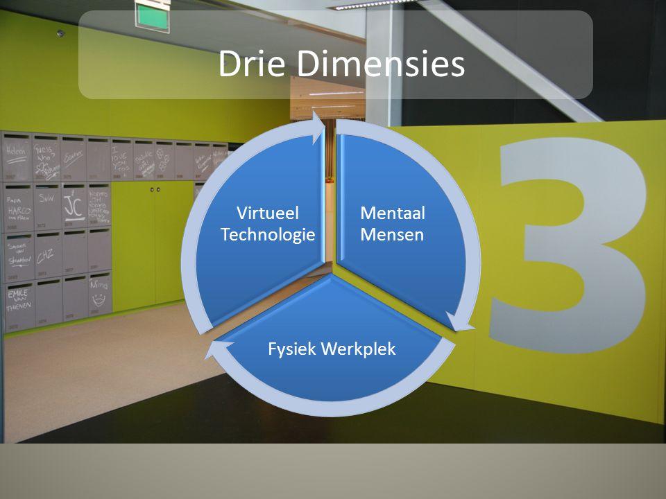 Mentaal Mensen Fysiek Werkplek Virtueel Technologie Drie Dimensies