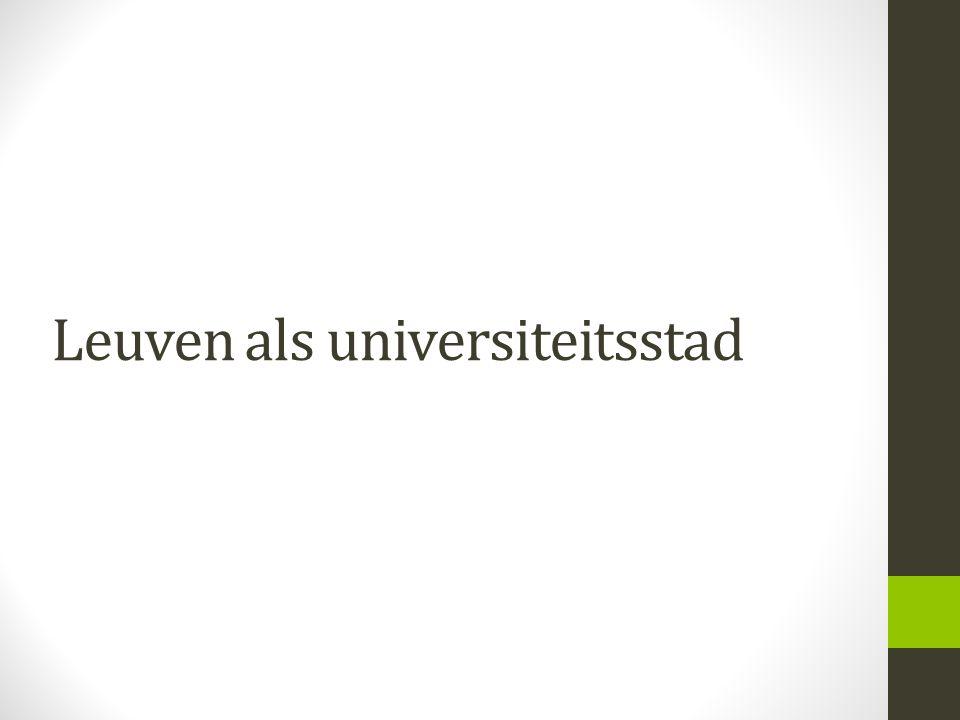 Leuven als universiteitsstad