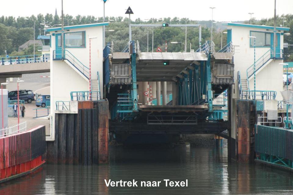 Vertrek naar Texel