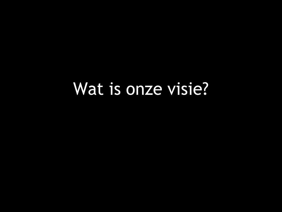 Wat is onze visie?