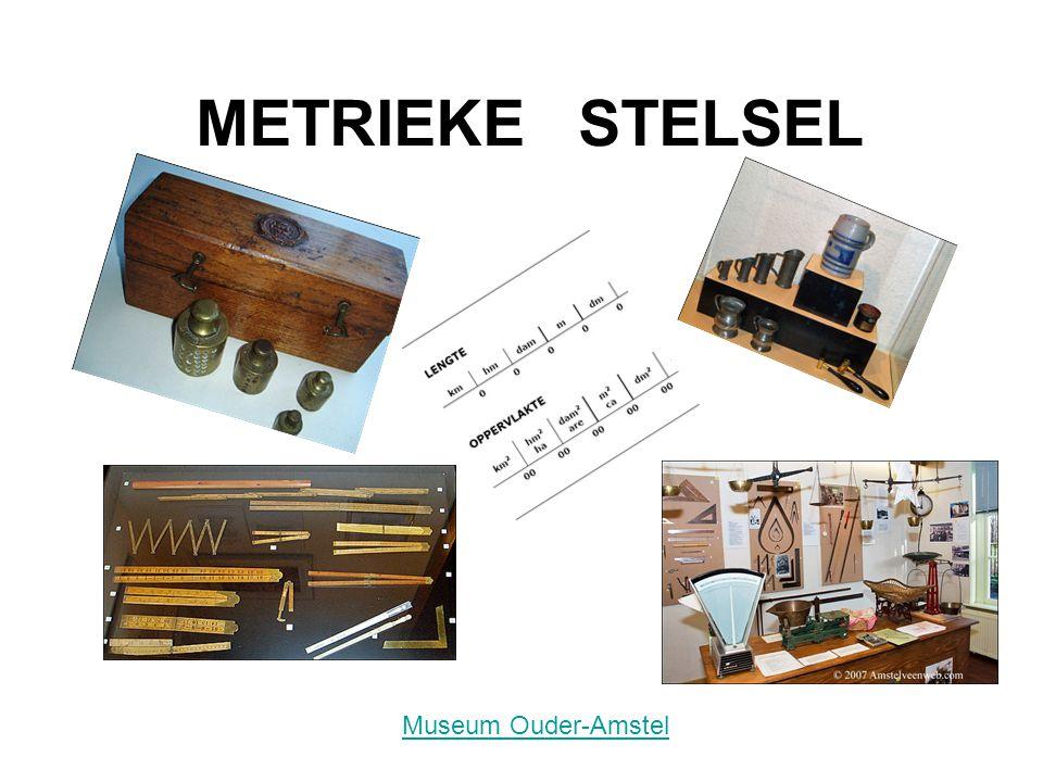 METRIEKE STELSEL Museum Ouder-Amstel