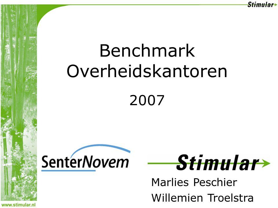 Marlies Peschier Willemien Troelstra Benchmark Overheidskantoren 2007