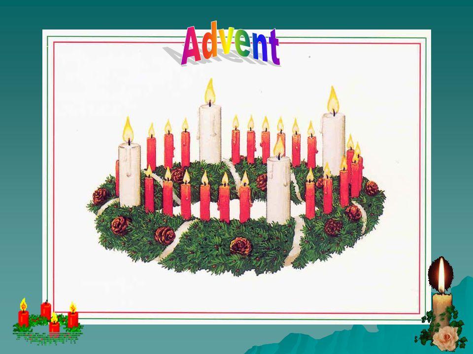 Advent Advent is onderweg zijn Advent is op die lange weg zijn van verwachting naar vervulling, van droom naar werkelijkheid. Advent is geduldig wacht