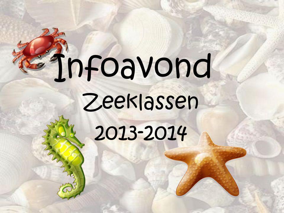 Zeeklassen 2013-2014 Infoavond